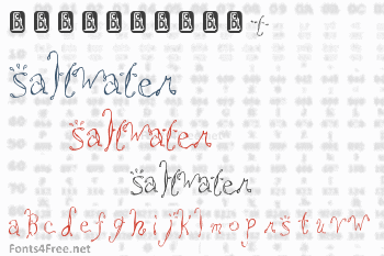 Saltwater Font