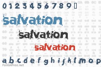 Salvation Font