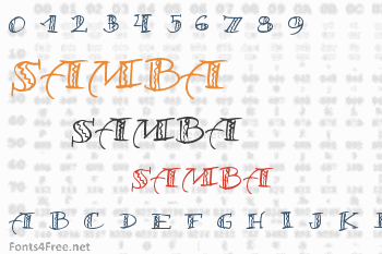 Samba Font