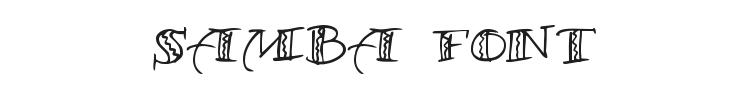 Samba Font Preview