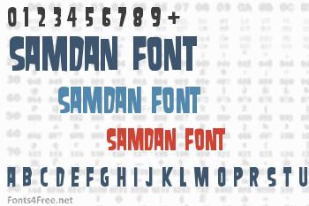 Samdan Font