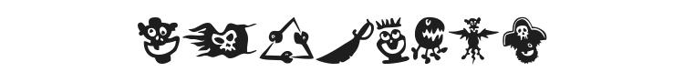 Sams Dingbats Font Preview