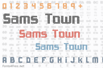 Sams Town Font