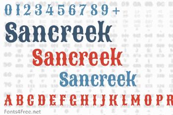 Sancreek Font