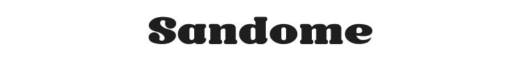 Sandome Font