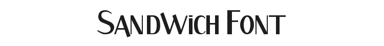 Sandwich Font Preview