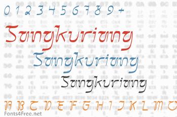 Sangkuriang Font