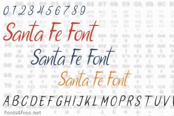 Santa Fe Font