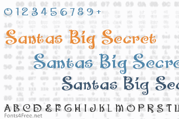 Santas Big Secret Font