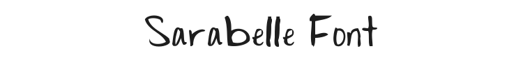 Sarabelle Font Preview