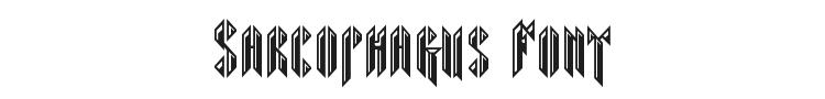 Sarcophagus Font Preview