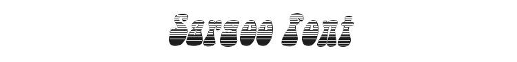 Sargoo Font Preview