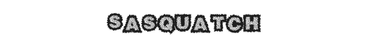 Sasquatch Font Preview