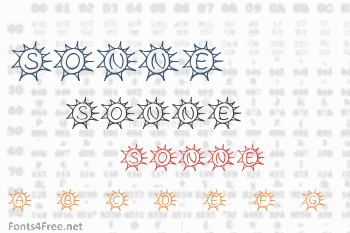 Sassys Sonne Font