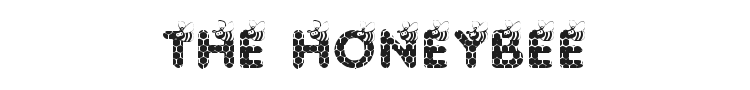 Save The Honeybee Font Preview