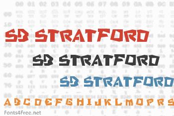 SB Stratford Font