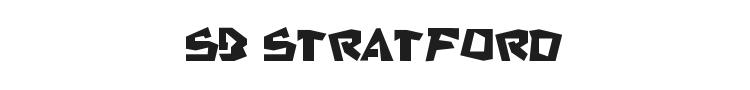 SB Stratford Font Preview