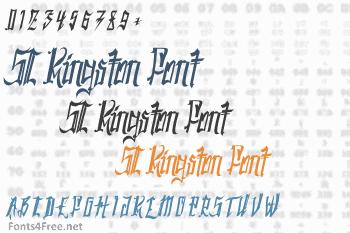 SC Kingston Font