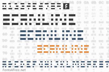 Scanline Font