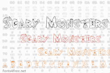 Scary Monsters Font