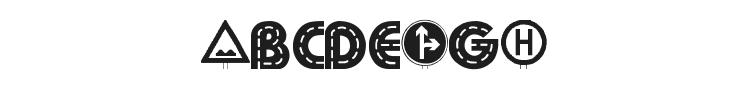 Schilderwald Dingbats Font Preview