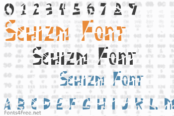Schizm Font