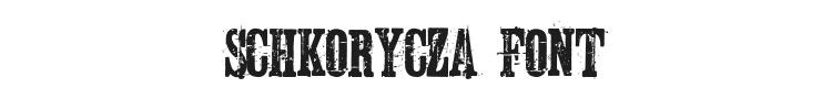 Schkorycza Font Preview