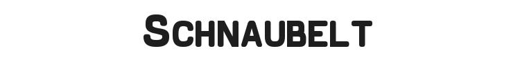Schnaubelt Font Preview