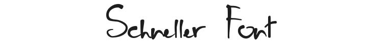 Schneller Font Preview