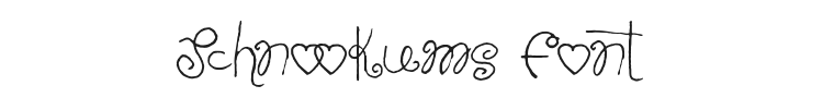 Schnookums Font