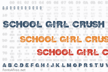 School Girl Crush Font