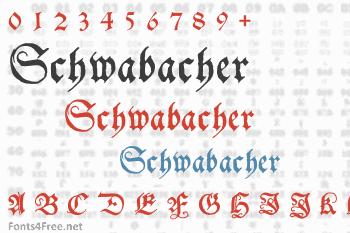 Schwabacher Font