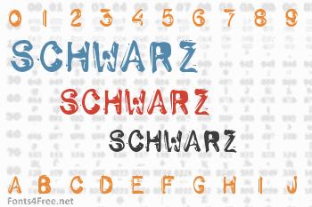Schwarz Font