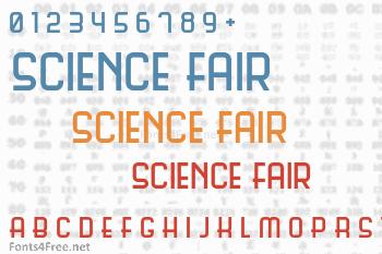 Science Fair Font