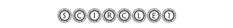 Scircle1 Font