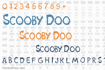 Scooby Doo Font