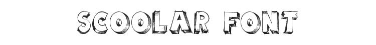 Scoolar Font