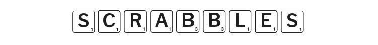 Scrabbles Font Preview