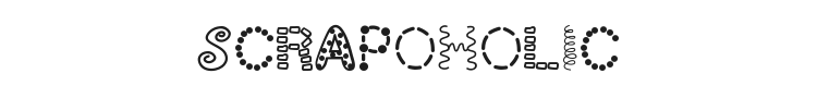 ScrapOHolic Font Preview