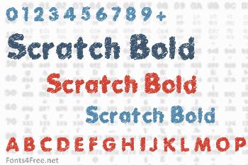 Scratch Bold Font