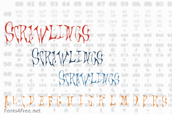 Scrawlings Font
