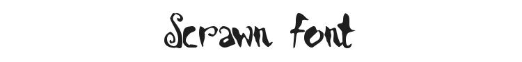 Scrawn Font Preview