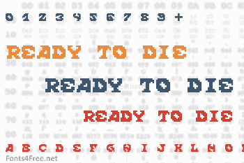 Scream When You're Ready To Die Font