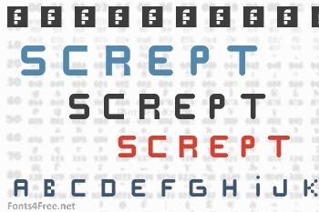 Scrept Font