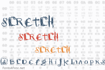 Scretch Font
