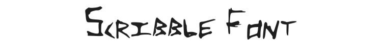 Scribble Font Preview