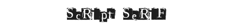 Script Serif Font Preview