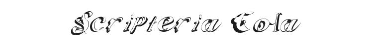 Scripteria Cola Font