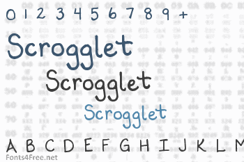 Scrogglet Font