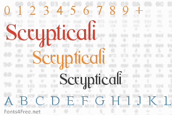 Scrypticali Font